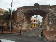 saída oeste da Cidade Colonial proc. da República 1844 Sto. Dgo. RD