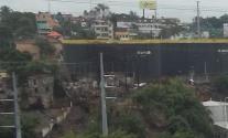 favela na barranca do rio Centro Sto. Dgo. RD